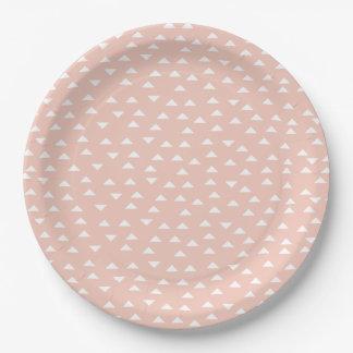 Mod Triangle   Paper plates