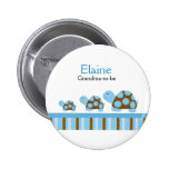 MOD TURTLES NAME TAG Personalised Button
