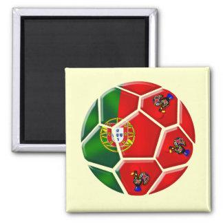 Moda Portuguesa - Fuetbol Chique Square Magnet
