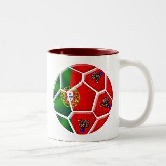 Moda Portuguesa - Fuetbol Chique Two-Tone Mug