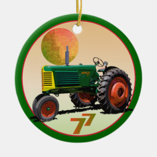 Model 77 Row Crop Christmas Ornament