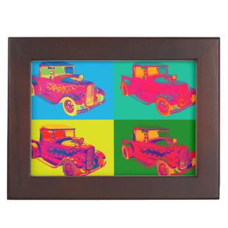 Model A Ford Pickup Hotrod Pop Art. Memory Box