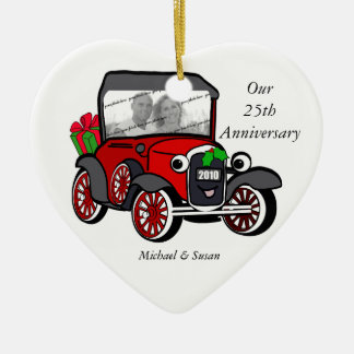 Model A Photo Christmas Christmas Ornament