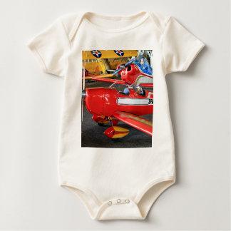 Model aircraft baby bodysuit