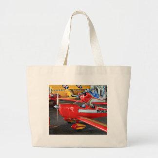 Model aircraft jumbo tote bag
