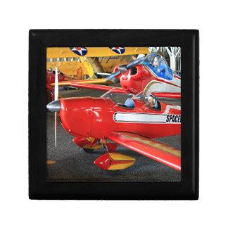 Model aircraft small square gift box