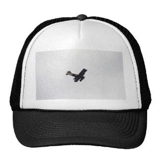 Model Biplane In Flight Mesh Hats