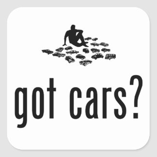 Model Cars Lover Stickers