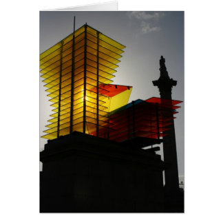 Model for a Hotel, Thomas Schutte's sculpture Card