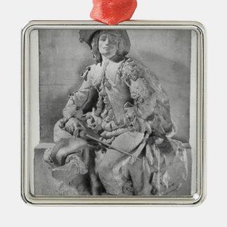 Model for the Monument to Alexandre Dumas Pere Christmas Ornament