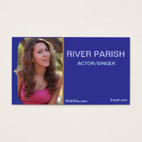Acting business cards business card printing zazzle uk model headshot business card colourmoves Gallery