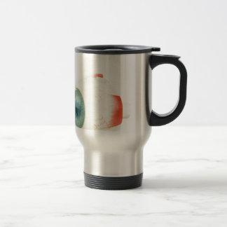 Model human eye isolated on white background.jpg stainless steel travel mug
