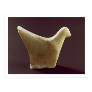 Model of a bird, early Cycladic, c.2800-2300 BC (m Postcard