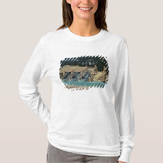 Model of a bridge over the Rhine T-Shirt