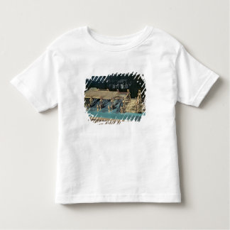 Model of a bridge over the Rhine Toddler T-Shirt
