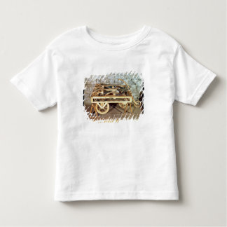 Model of a car driven by springs toddler T-Shirt