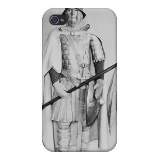 Model of a Carolingian cavalryman Covers For iPhone 4