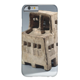 Model of a house (limestone) barely there iPhone 6 case