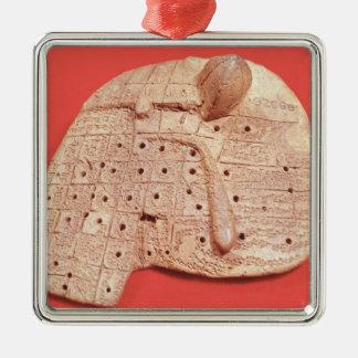 Model of a sheep's liver christmas ornament