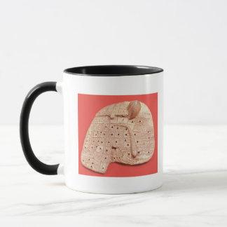 Model of a sheep's liver mug