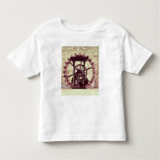 Model of a water wheel toddler T-Shirt