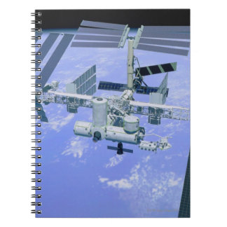 Model of an International Space Station Notebooks