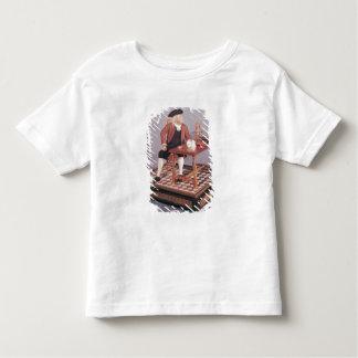Model of Benjamin Franklin  at his table Toddler T-Shirt