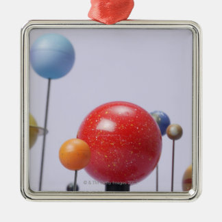Model of planets christmas ornament