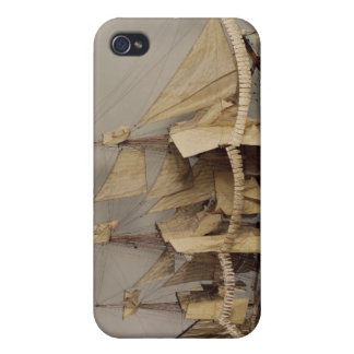 Model of the ship 'L'Achille' iPhone 4 Cover