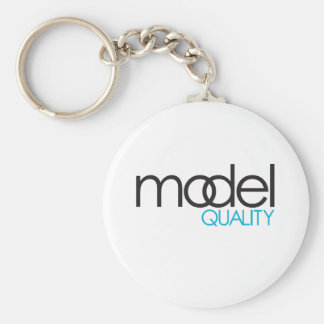 Model Quality Gear Basic Round Button Key Ring