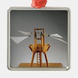 Model reconstruction of da Vinci's design Christmas Ornament