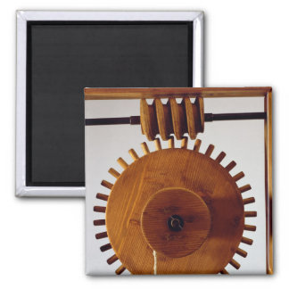 Model reconstruction of da Vinci's design Magnet