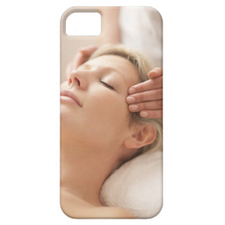 MODEL RELEASED. Facial. Barely There iPhone 5 Case