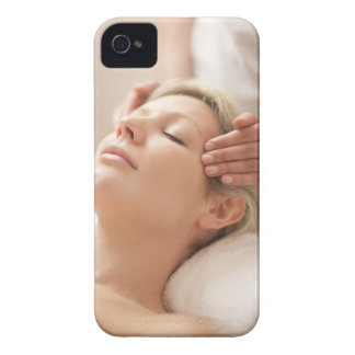 MODEL RELEASED. Facial. iPhone 4 Case-Mate Cases