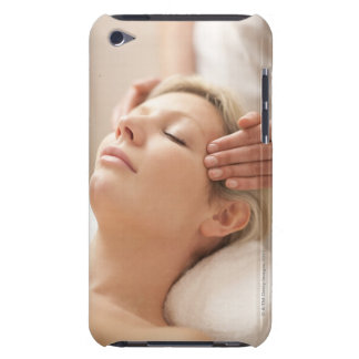 MODEL RELEASED. Facial. iPod Touch Case