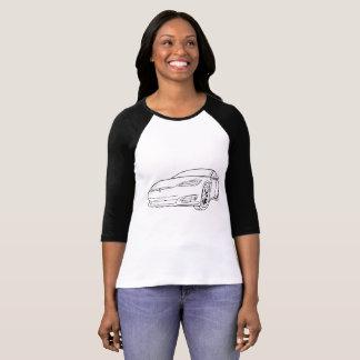 Model S Blk, New Nose, Black Reglan T-Shirt