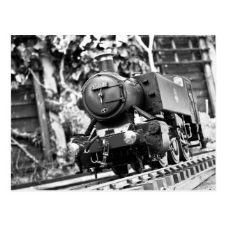 Model Steam Train Postcard