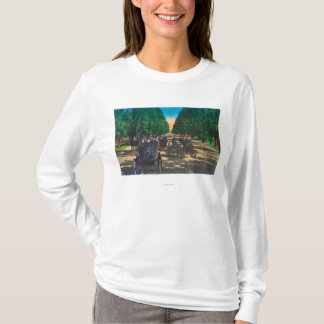 Model-T Fords on Kearney AvenueFresno, CA T-Shirt