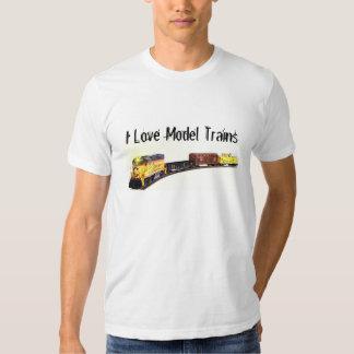 Model Trains & Railroading Tshirt