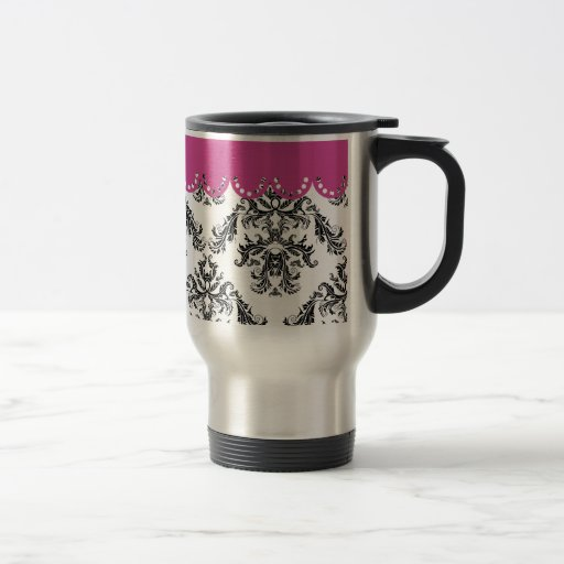 Modelo B&W of the vintage one with rose Mugs