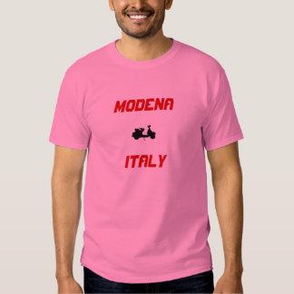 Modena, Italy Scooter Tee Shirt