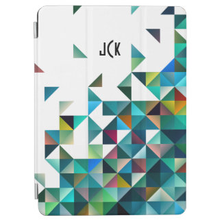 Moder Colorful Geometric Shapes Triangles Pattern iPad Air Cover