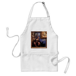 Moderation by Paolo Veronese Standard Apron