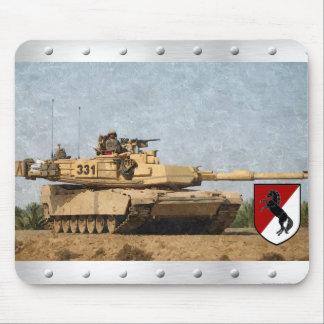 Modern 11th ACR M1 Abrams Tank Mousepad