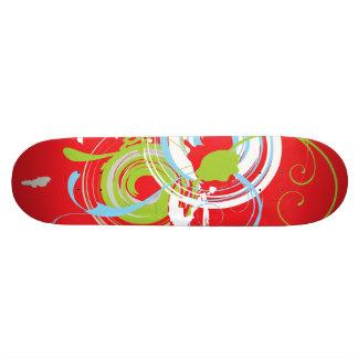 Modern 21.6 Cm Old School Skateboard Deck