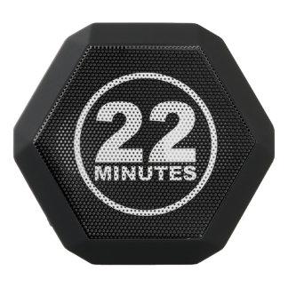 Modern - 22 Minutes Black Bluetooth Speaker