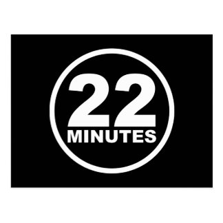 Modern - 22 Minutes Postcard