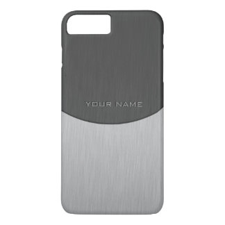 Modern 2 Tone Name Template iPhone 7 Plus Case