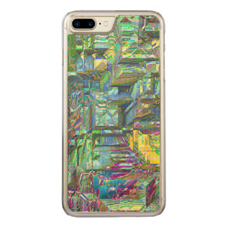 modern 3d art 03 (I) Carved iPhone 8 Plus/7 Plus Case