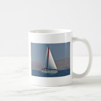 Modern 47 Foot Yacht Coffee Mug